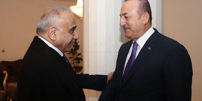 Son dakika... Bakan Çavuşoğlu, Irak Başbakanı Abdülmehdi ile görüştü