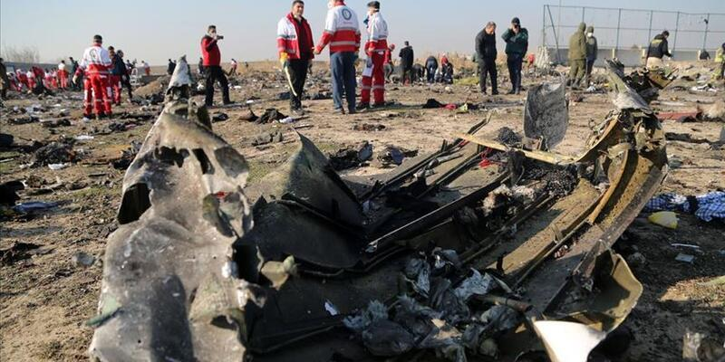 Kanada ve İngiltere, Ukrayna uçağını İran'ın vurduğunu açıkladı
