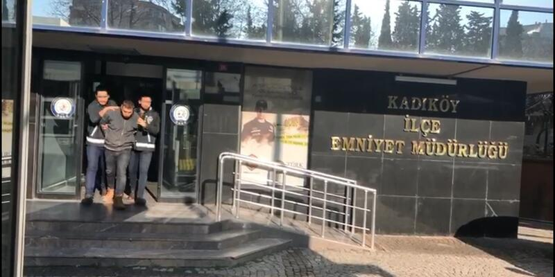 Kadıköy'deki yılbaşı tacizcisi yakalandı
