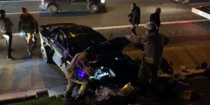 TEM Otoyolu'nda kaza: Çok sayıda yaralı var