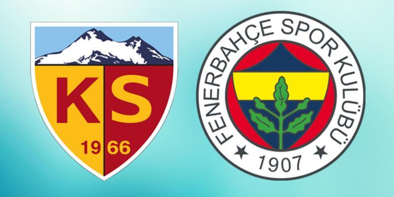 Kayserispor Fenerbahçe Ziraat Türkiye Kupası maçı ne zaman, saat kaçta?