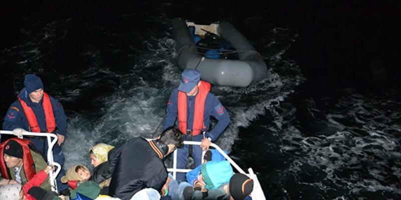 İzmir'de 221 düzensiz göçmen yakalandı