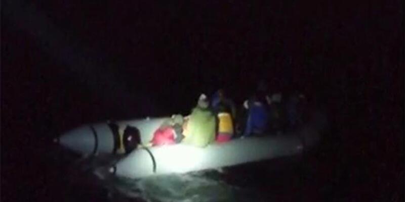 Kuşadası'nda 20 düzensiz göçmen yakalandı