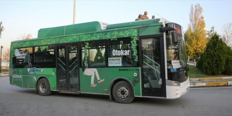 Türkiye'nin ilk elektrikli otobüsü Doruk Electra kampüslerde