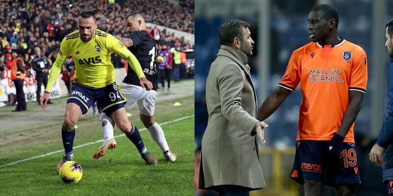 Kırmızı kart gören Muriç Başakşehir maçında sahada