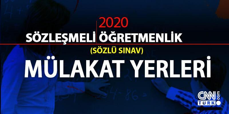 2020 sözleşmeli öğretmenlik mülakat yerleri açıklaması için gözler MEB'te! Sözlü sınav ne zaman?