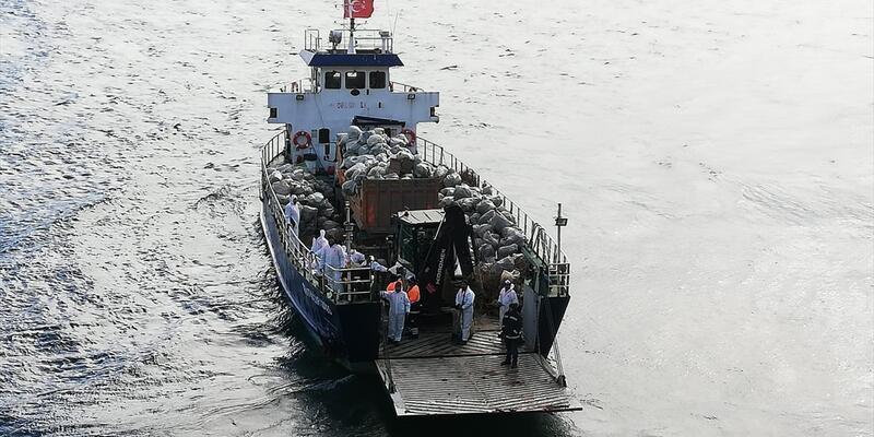 İSTAÇ, Büyükada'da 25 ton çöp ve atık topladı
