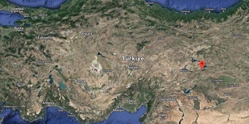 Sivrice neresi? İşte haritada Elazığ'ın Sivrice ilçesinin konumu