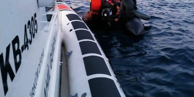 Ayvalık açıklarında 40kaçak göçmen yakalandı