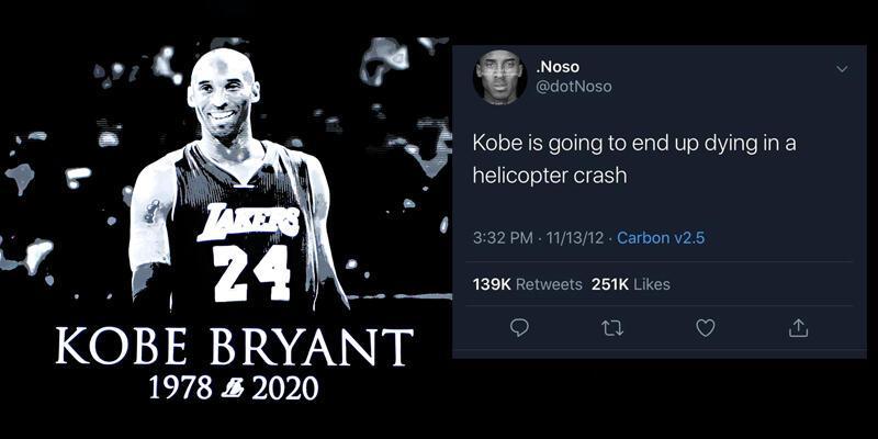 Kobe Bryant tweeti sahte çıktı!