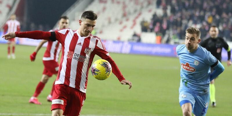 Sivasspor 1-1 Rizespor MAÇ ÖZETİ