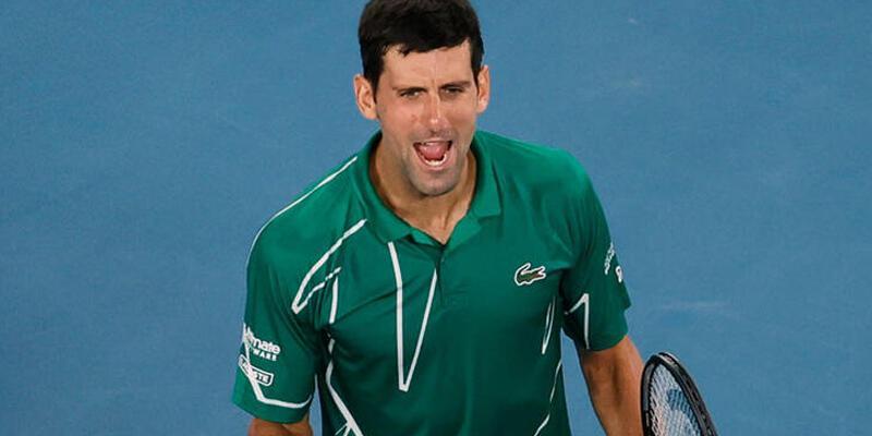Avustralya Açık'ta ilk finalist Djokovic