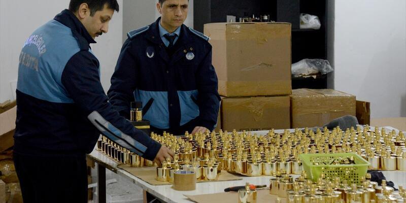 Bodrum katında sahte parfüme 2 gözaltı
