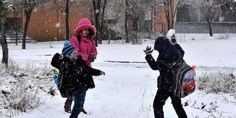 Kar Türkiye'yi etkisi altına aldı: Birçok yerde eğitime kar engeli