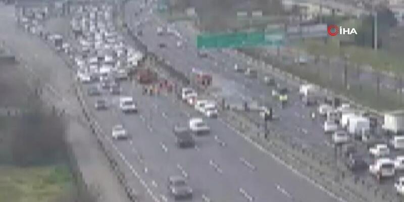 Son dakika... Fatih Sultan Mehmet Köprüsü girişinde kaza