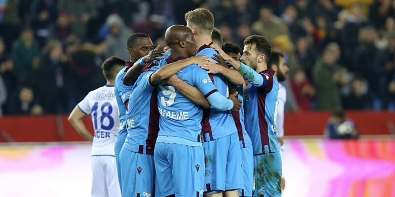 Trabzonspor'dan gol şov: 5-0