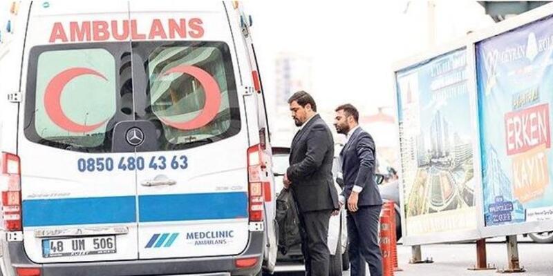 VIP ambulans şoförü gözaltına alındı