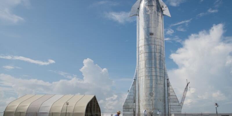 SpaceX Starship uzay gemisinin testlerine başlamak başvuru yaptı