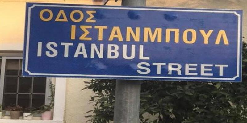 Güney Kıbrıs'ta 'İstanbul Sokağı' tartışması