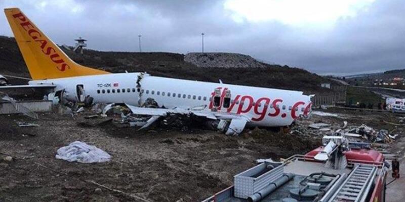 Sabiha Gökçen'deki uçak kazasında yolcular o anları anlattı
