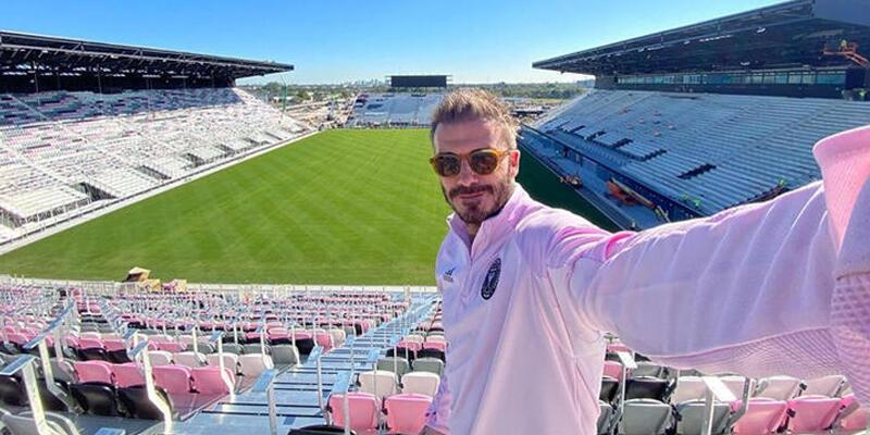 Beckham'ın kulübüne pembe stadyum