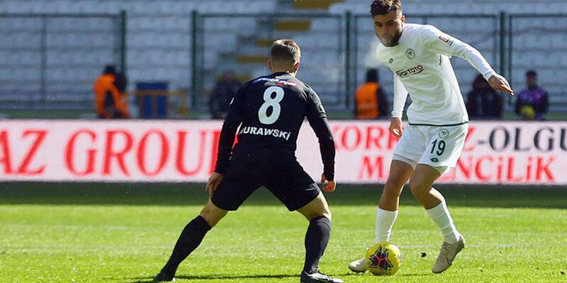 İttifak Holding Konyaspor - Yukatel Denizlispor: 0-0