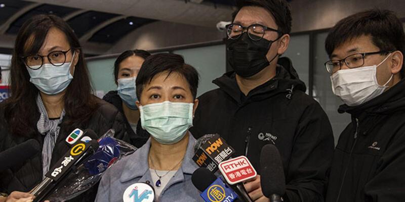 Hong Kong, Çin'den tahliye edilenleri karantina altına aldı