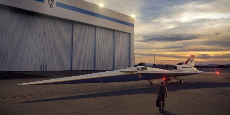 Sesten hızlı süpersonik jet bu yılın sonunda bitecek
