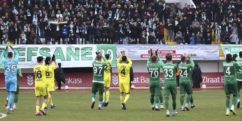 Fenerbahçe-Kırklarelispor maçı ertelenebilir