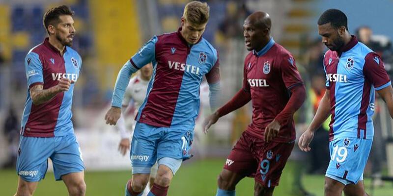 Trabzonspor'da 10 takıma bedel dörtlü!
