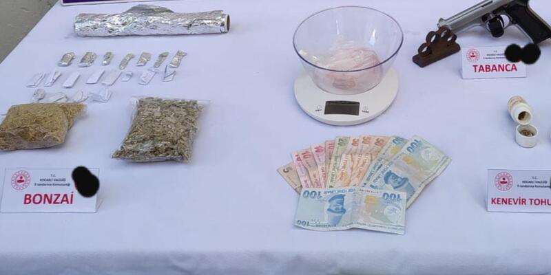 Gölcük'te uyuşturucu operasyonu: 2 kişi tutuklandı