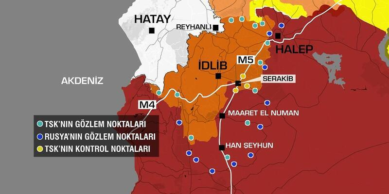 Suriye'deki stratejikM5kara yolu üzerinde mücadele sürüyor