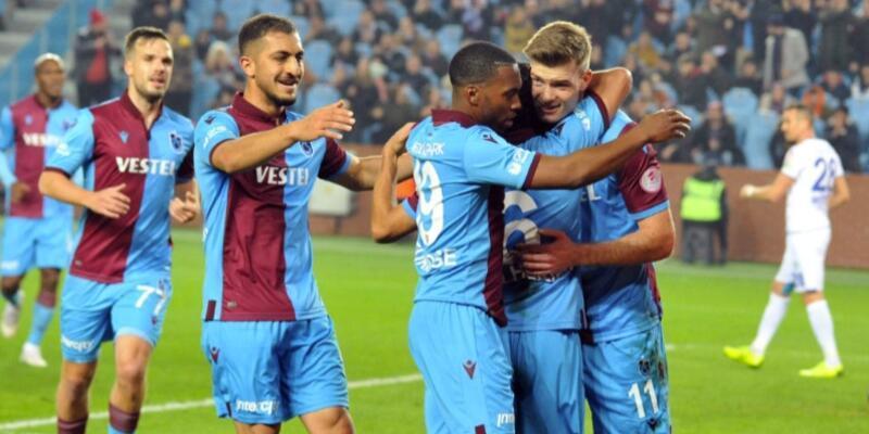Trabzonspor'un Erzurum kadrosu açıklandı