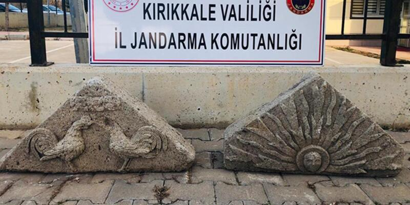 Binlerce yıl öncesine ait! 'Çift Horoz' ele geçirildi