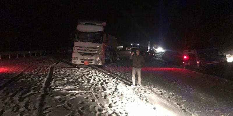 Malatya-Adıyaman kara yolu ulaşıma kapandı