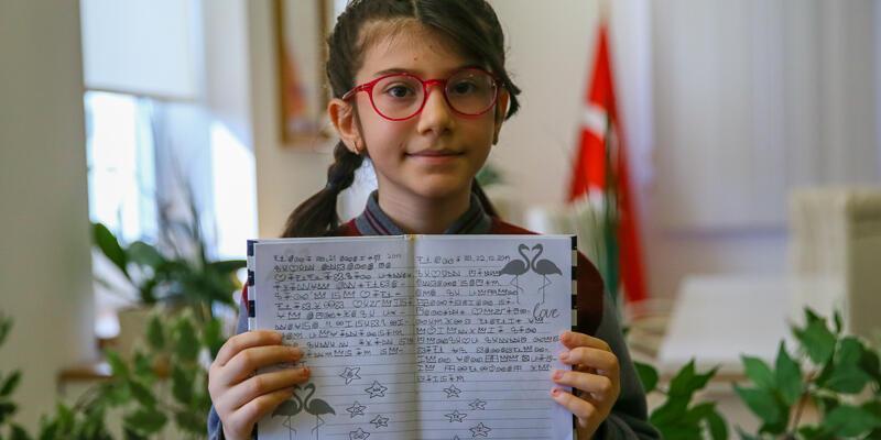 """İzmirli Elanur """"Uluslararası Caribou Matematik Yarışması""""nda birinci oldu"""