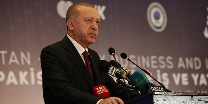 Son dakika... Cumhurbaşkanı Erdoğan: Türkiye'ye yatırım yapan hiç kimse pişman olmamıştır