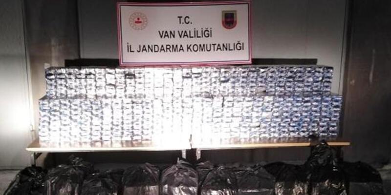 42 bin paket 'kaçak sigara' ele geçirildi