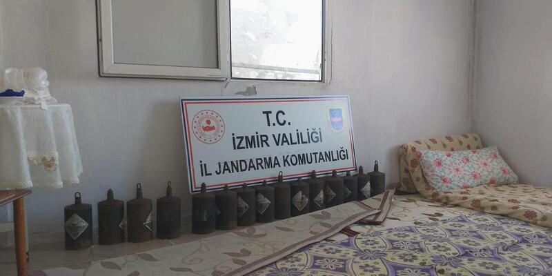 İzmir'de 497 kilo kaçak gri cıva ele geçirildi
