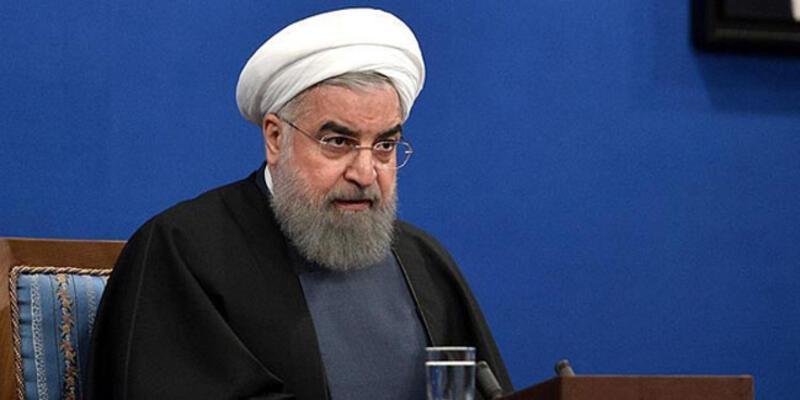 Ruhani: ABD'nin savaş peşinde olmadığını düşünüyoruz