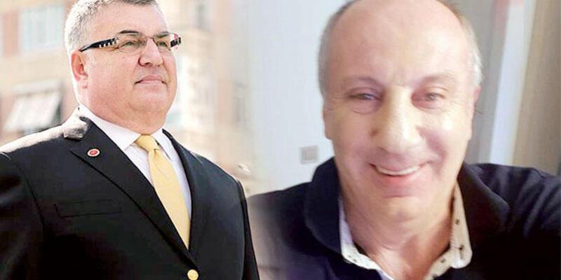 Kesimoğlu, Muharrem İnce'ye kafa mı attı? Fotoğraflı yanıt