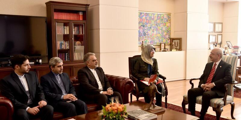 Kılıçdaroğlu, İran Büyükelçisi ile görüştü