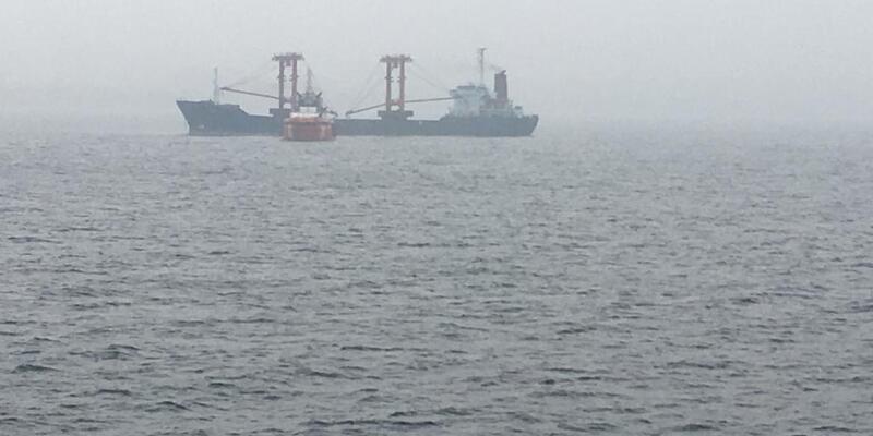 Son dakika... Çanakkale Boğazı'nda gemi yangını