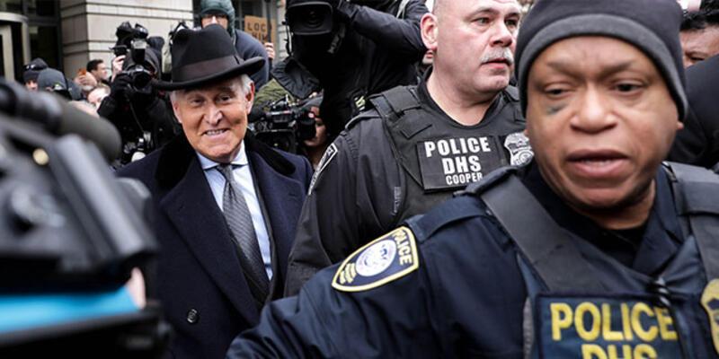 Trump'ın eski danışmanı Stone'a hapis cezası