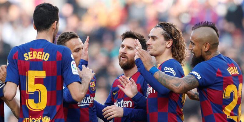 Barcelona-Eibar: 5-0