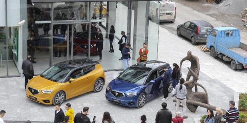 KKTC'nin ilk yerli otomobili için tanıtım ofisi açıldı