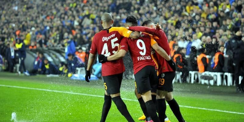 Fenerbahçe 1-3 Galatasaray MAÇ ÖZETİ