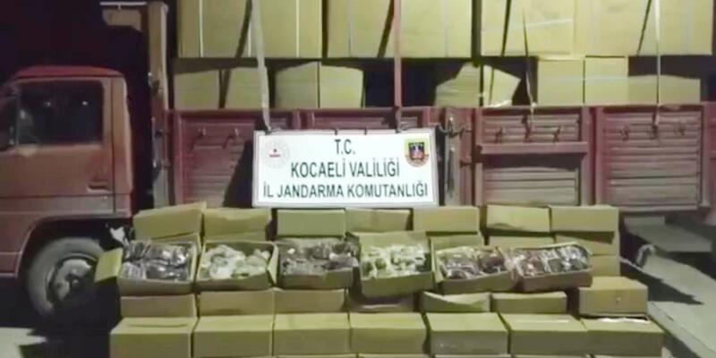 5 ton 700 kilo kaçak tütün ele geçirildi