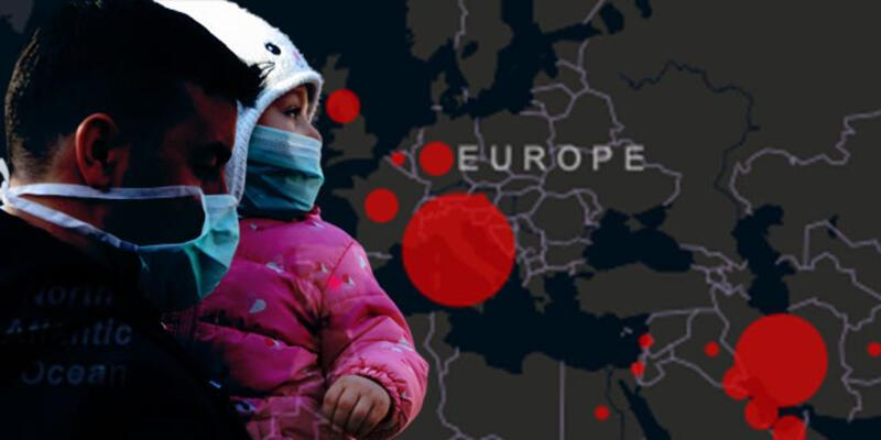 Avrupa'da bir ülkede daha koronavirüs tespit edildi