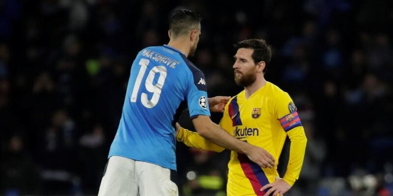 Napoli 1-1 Barcelona MAÇ ÖZETİ